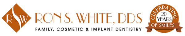 ron s white logo